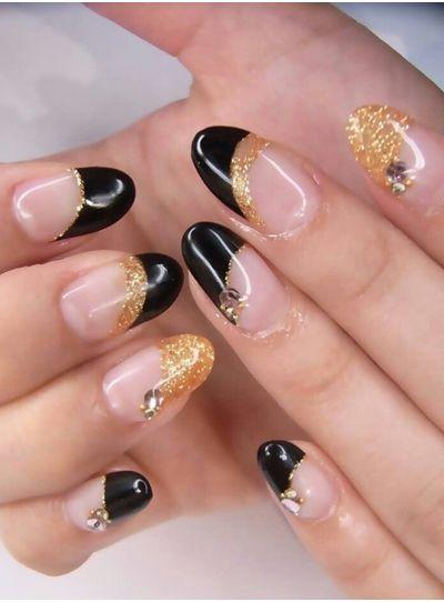 sako, černé a zlaté