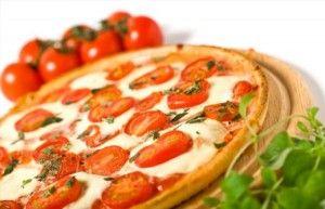 90 dnů dieta recept pizza s rajčaty a sýrem