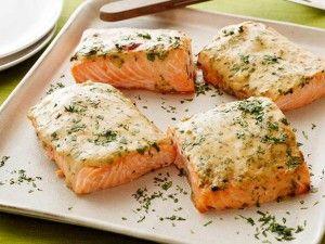 90 dnů dieta recept z lososa s hořčičnou omáčkou