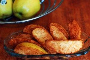 pečená jablka se skořicí receptu