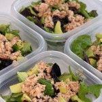 Salata dietetice cu conserve de ton