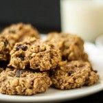 Cookie-uri fulgi de ovăz dietetice cu banane