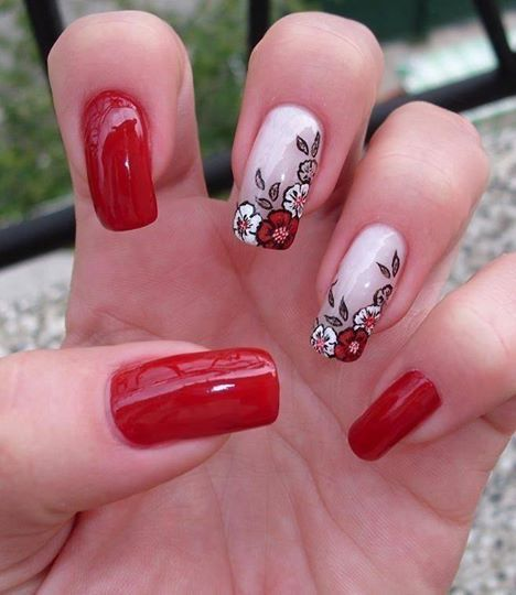 Červené květy jsou vždy v módě