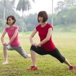 Japonské cvičení pro hubnutí