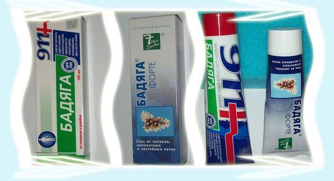 Wen Tratamentul unguent Badyaga facial, gel cremă