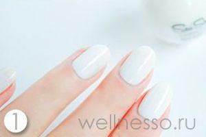 Příprava nehty manikúra