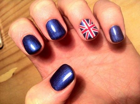 s britskou vlajkou vzorem