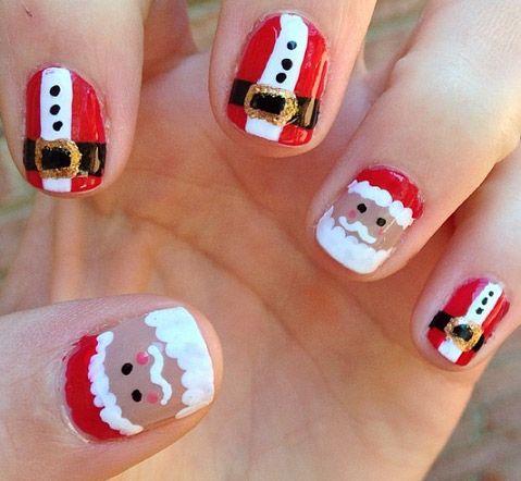 Santa na nehty