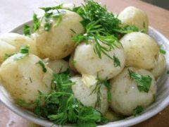 Půst den na bramborách