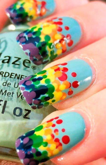barevných teček