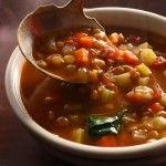 Supa de linte Vegetarian