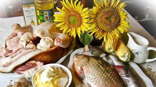 Tuky v potravinách