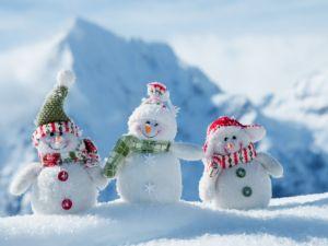 Zimske igre na otvorenom za djecu i odrasle